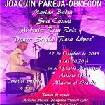 Cartel gala benéfica USPLV con Joaquín Pareja Obregón