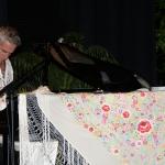 Pareja Obregón al piano
