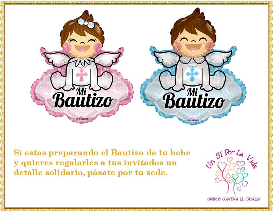 Detalles Solidarios Bautizo.Un Si Por La Vida Recuerdos Solidarios Para Bautizos