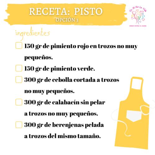 Pisto (opción saludable)