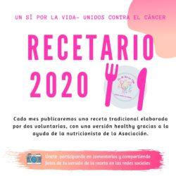 10/01/2020 – Recetario 2020