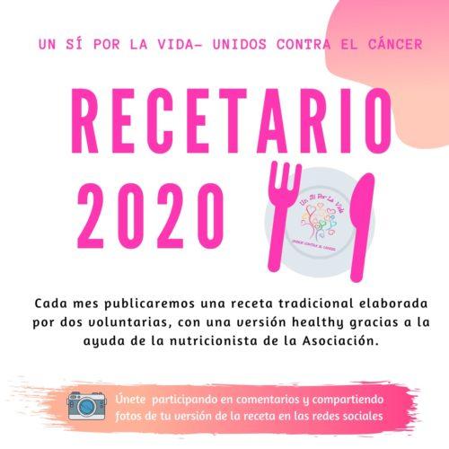 Último post del Recetario 2020