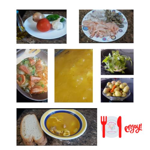 Sopa de Caldo por Encima (1ª opción)