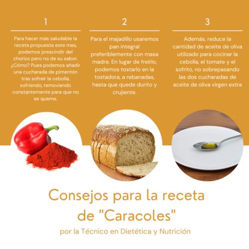 Caracoles (recomendaciones)